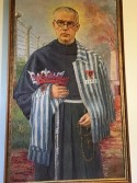 Painting of Father Kolbe